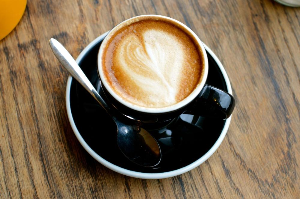 Coffee art, flat white