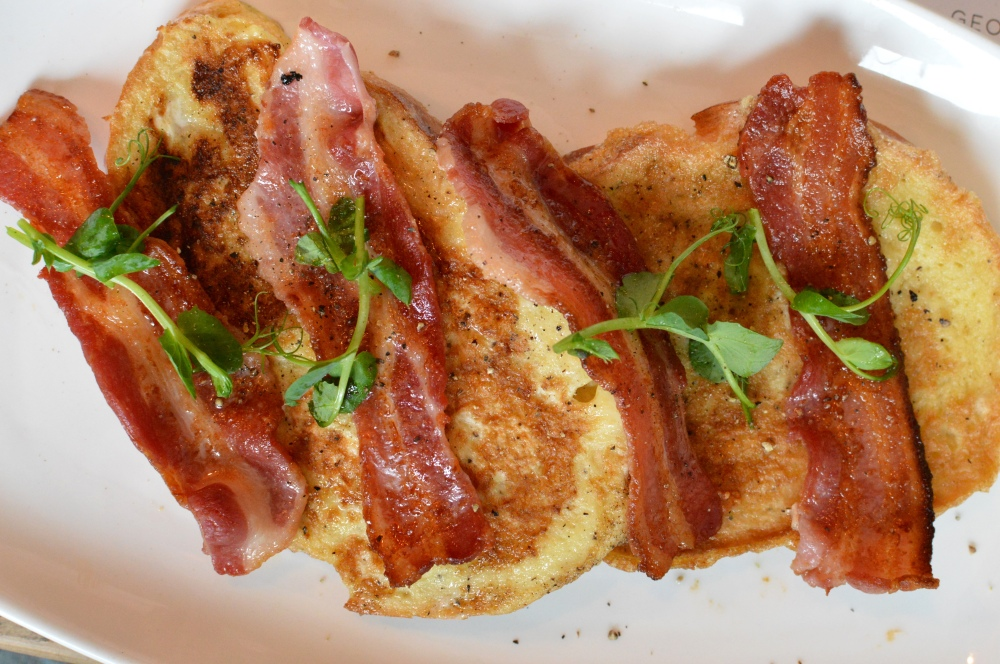 Eggy Bread + Bacon