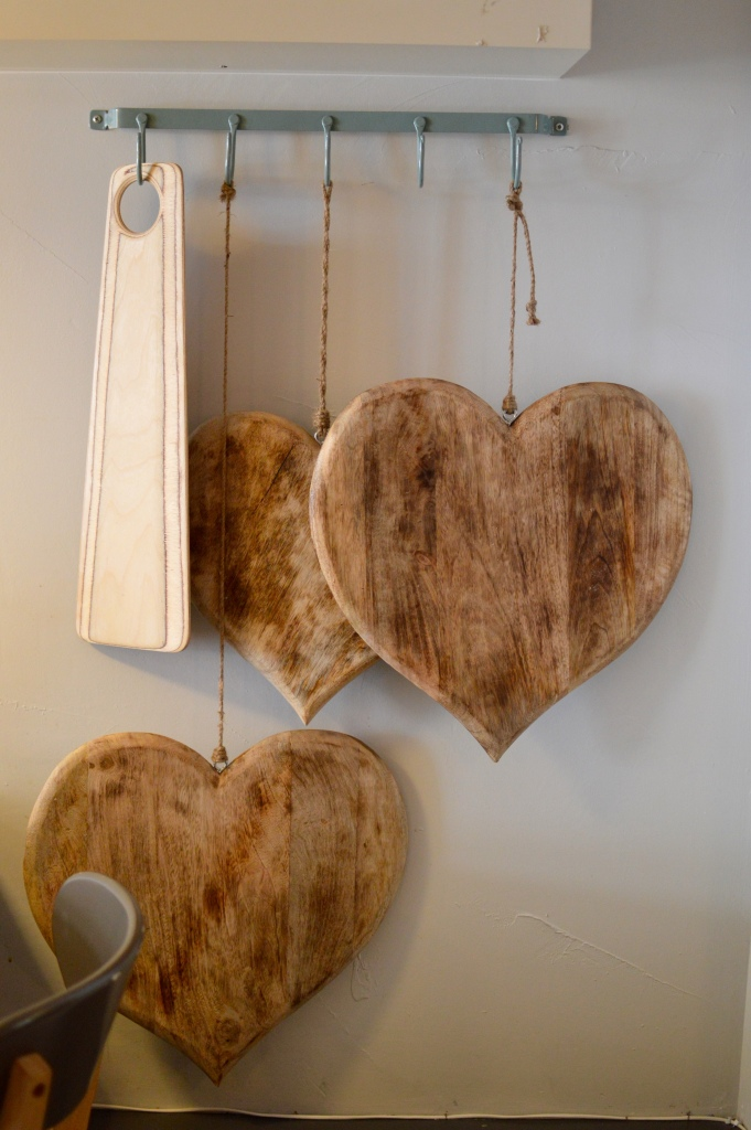 Wooden hearts, interior