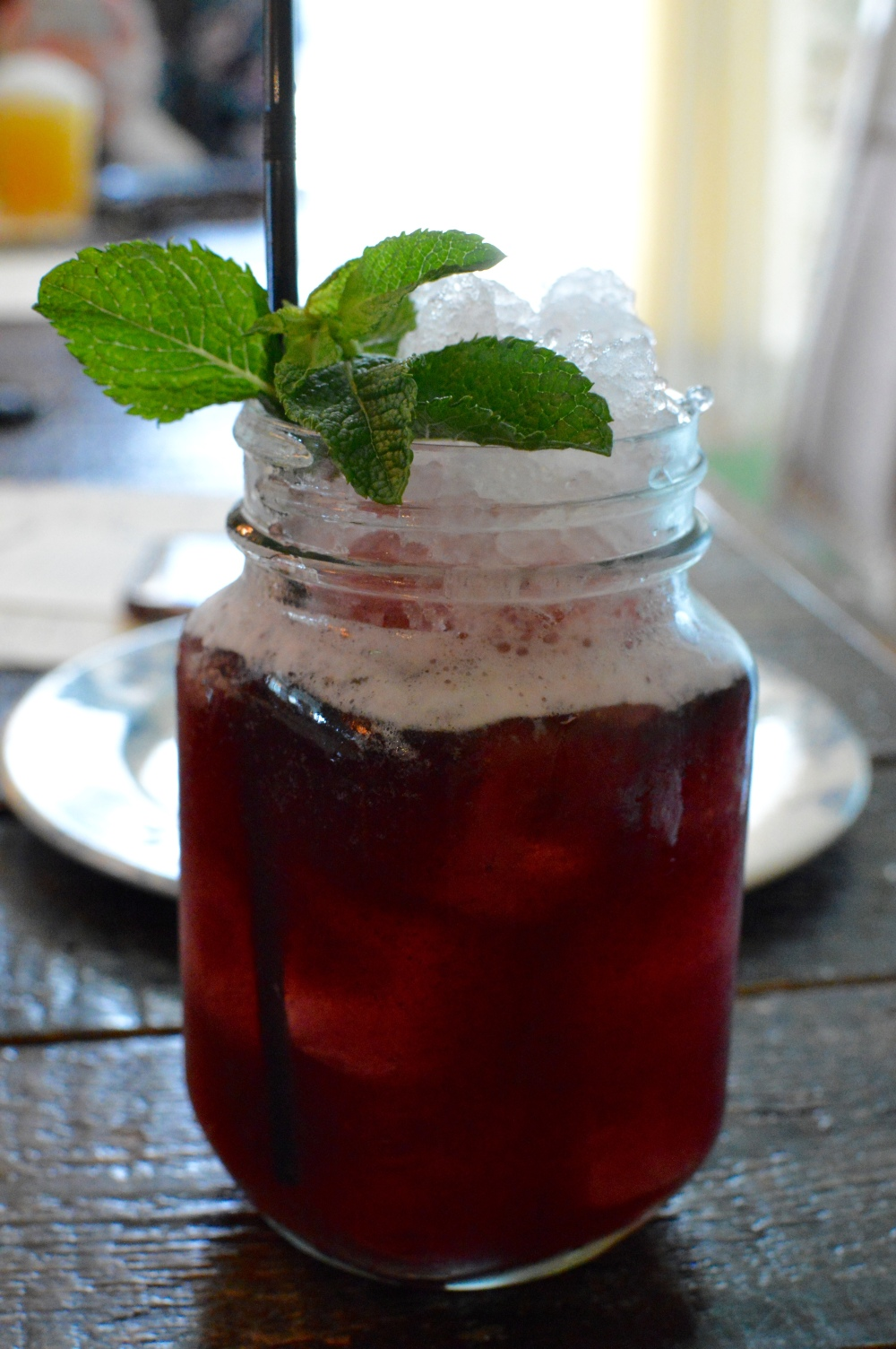 Berry Good Times - non-alcoholic cocktail at The Botanist