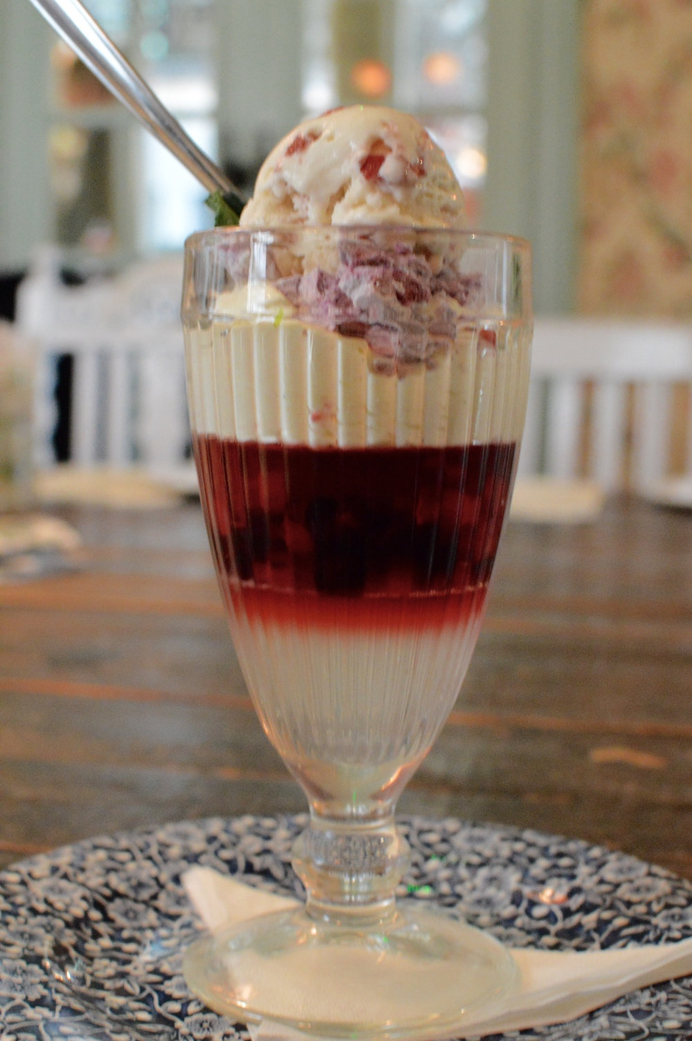 Elderflower Jelly & Red Berry Pavlova - The Botanist