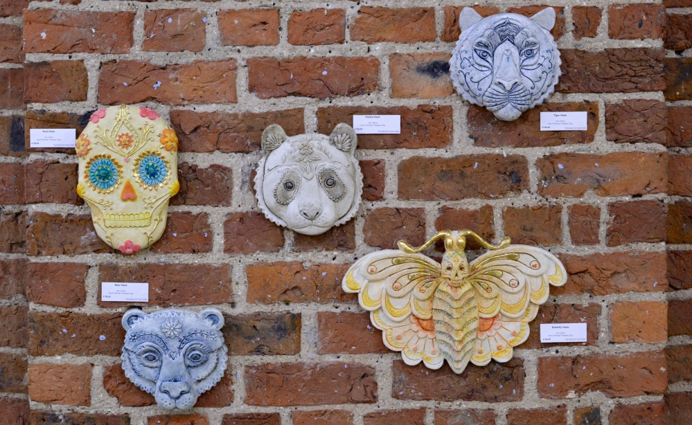 Clay Masks - Jeni Davis - The Biscuit Factory