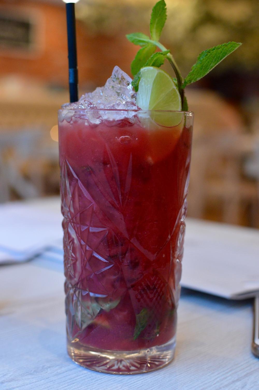 Raspberry Mojito. Branches Ponteland