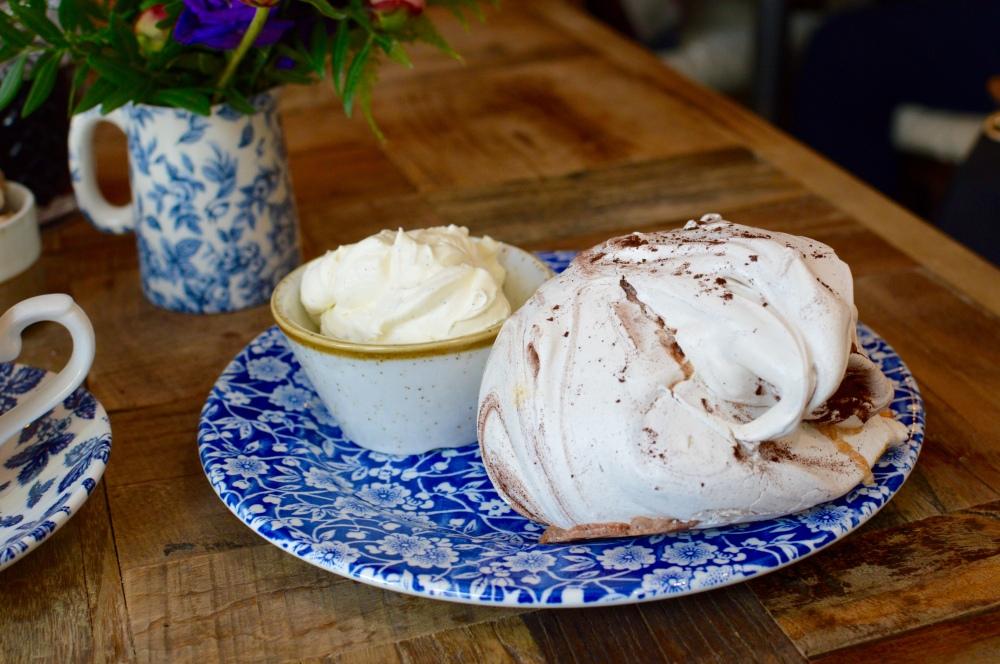 Chocolate Meringue, Violets Cafe Newcastle Quayside