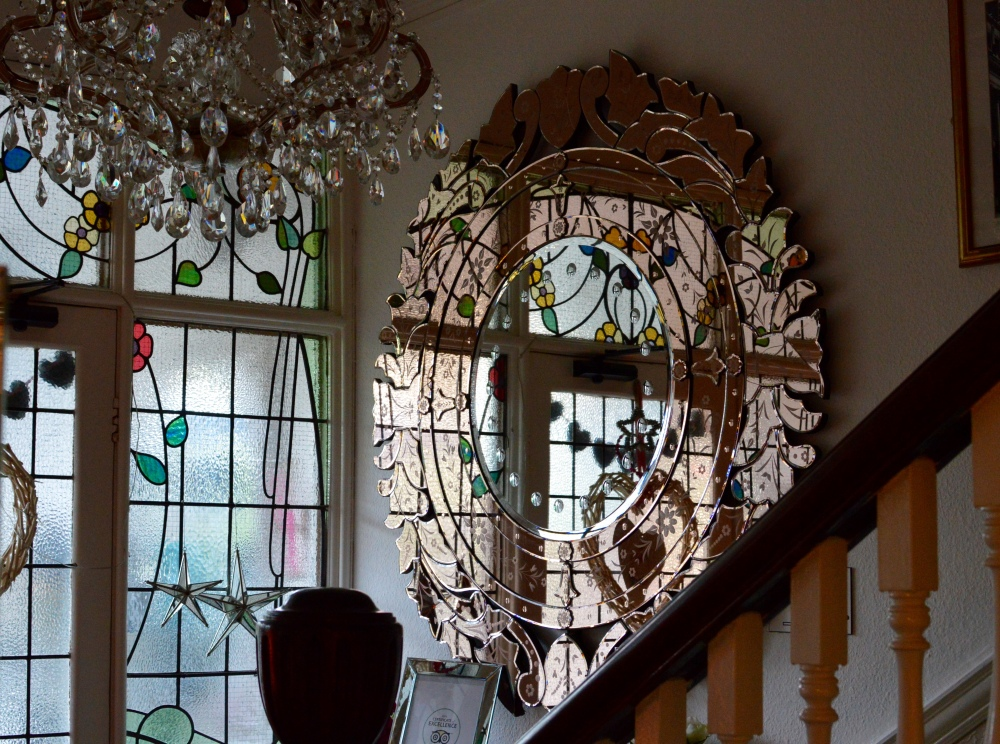 Rose Gold Mirror - The Rosebery Hotel Jesmond