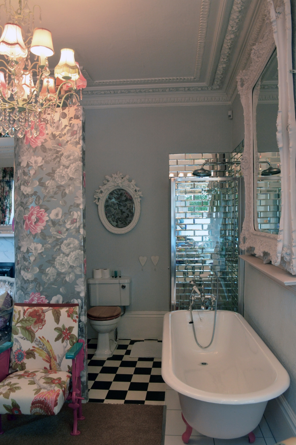 Boutique hotel bathroom - The Rosebery Hotel Jesmond