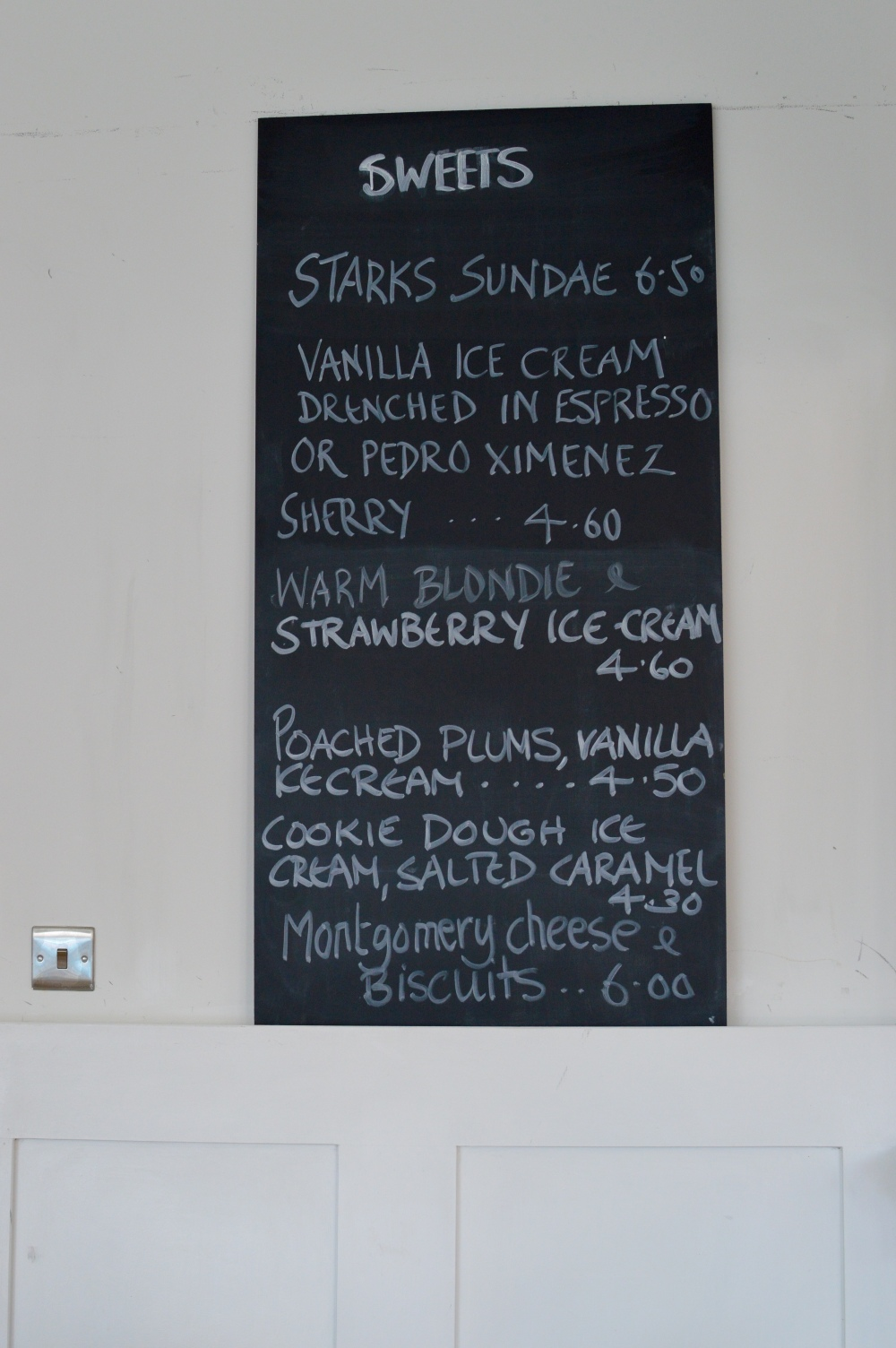 Dessert Board - Starks Kitchen Heaton