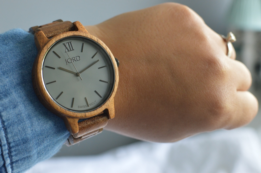 Jord Wooden Watch - Koa and Ash