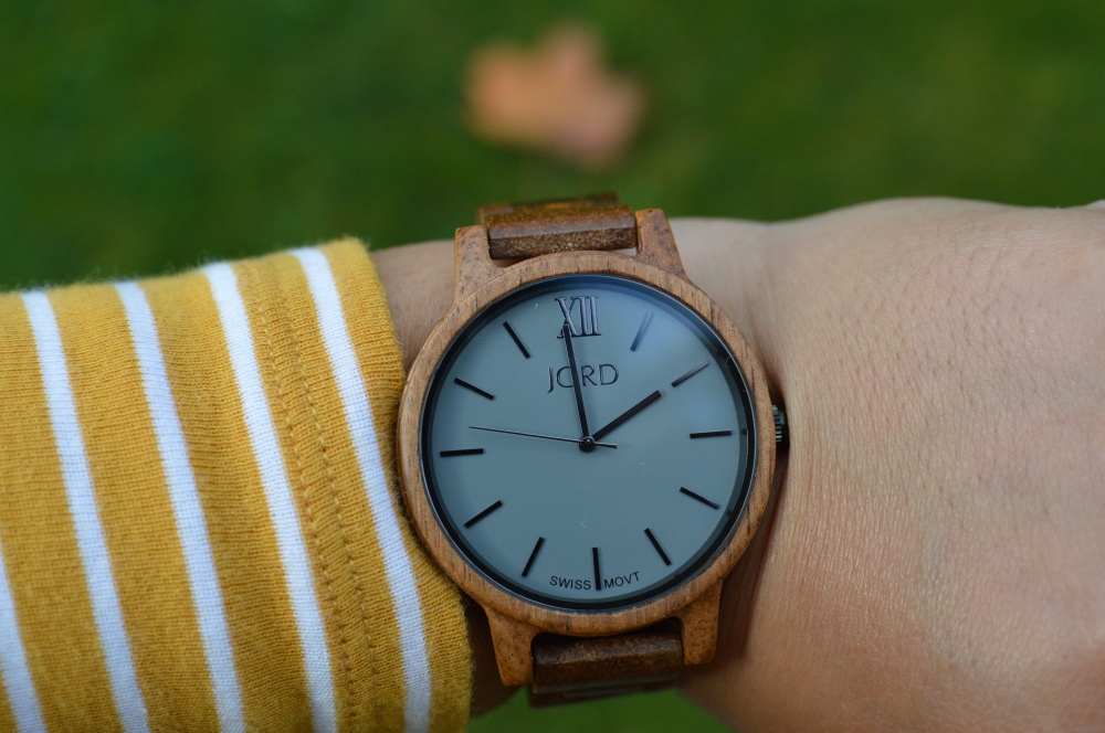Jord Wood Watch - Frankie Series, Koa and Ash