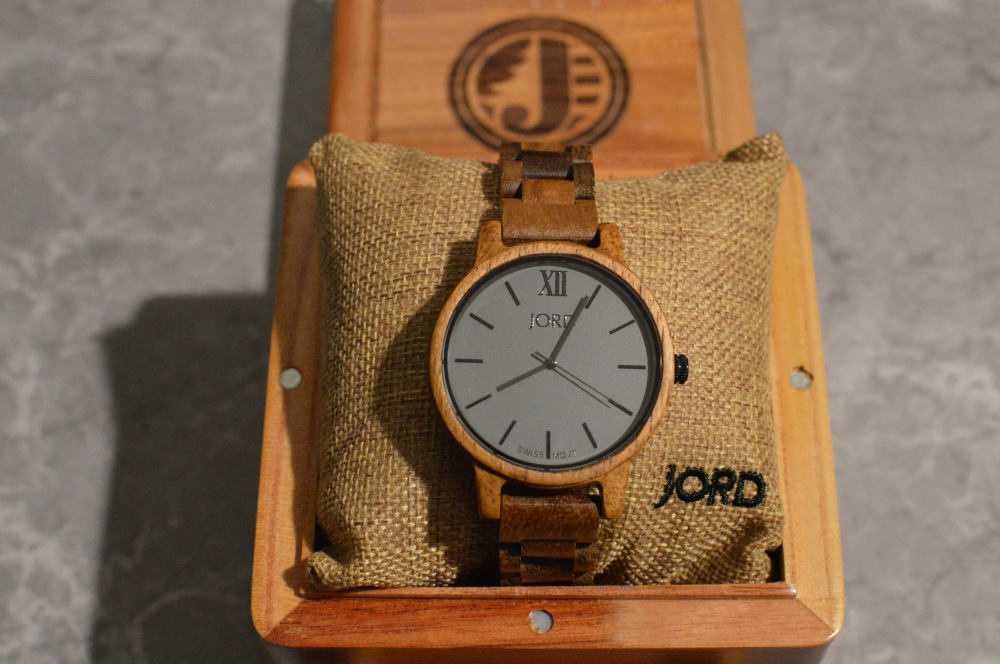 Jord Wood Watch - Koa and Ash. Frankie Series.