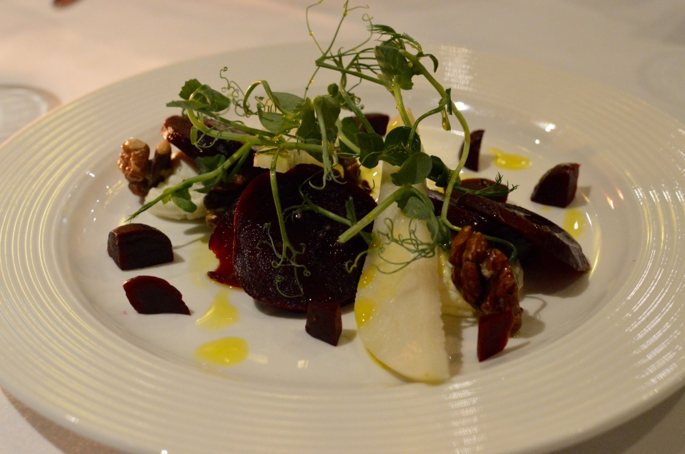 Beetroot, Goat's Cheese & Walnut Salad, The Cherry Tree - Jesmond