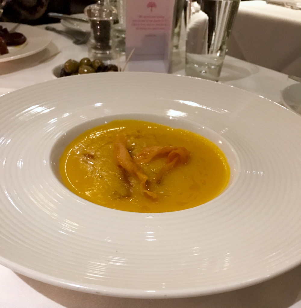 Carrot and Butternut Squash Soup, The Cherry Tree - Jesmond